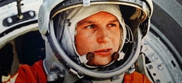 1963 - Aboard the Vostok, 6 Cosmonaut Valentina Tereshkova becomes the first woman in space.