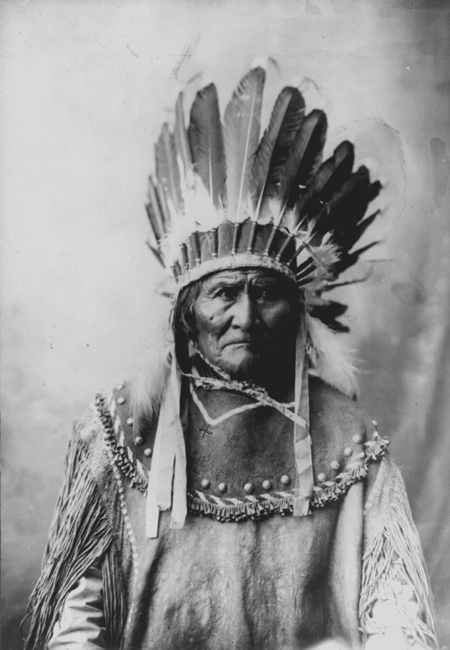 1829 - Geronimo, the famous Apache was born.