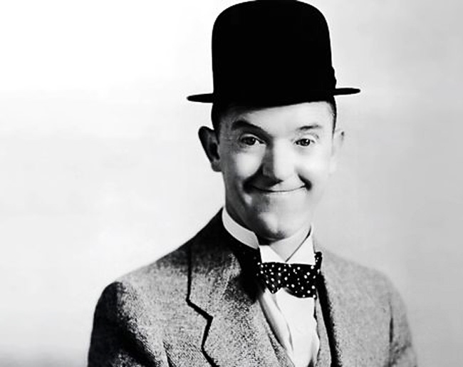 1890 - Stan Laurel, famed comic actor writer and director was born.