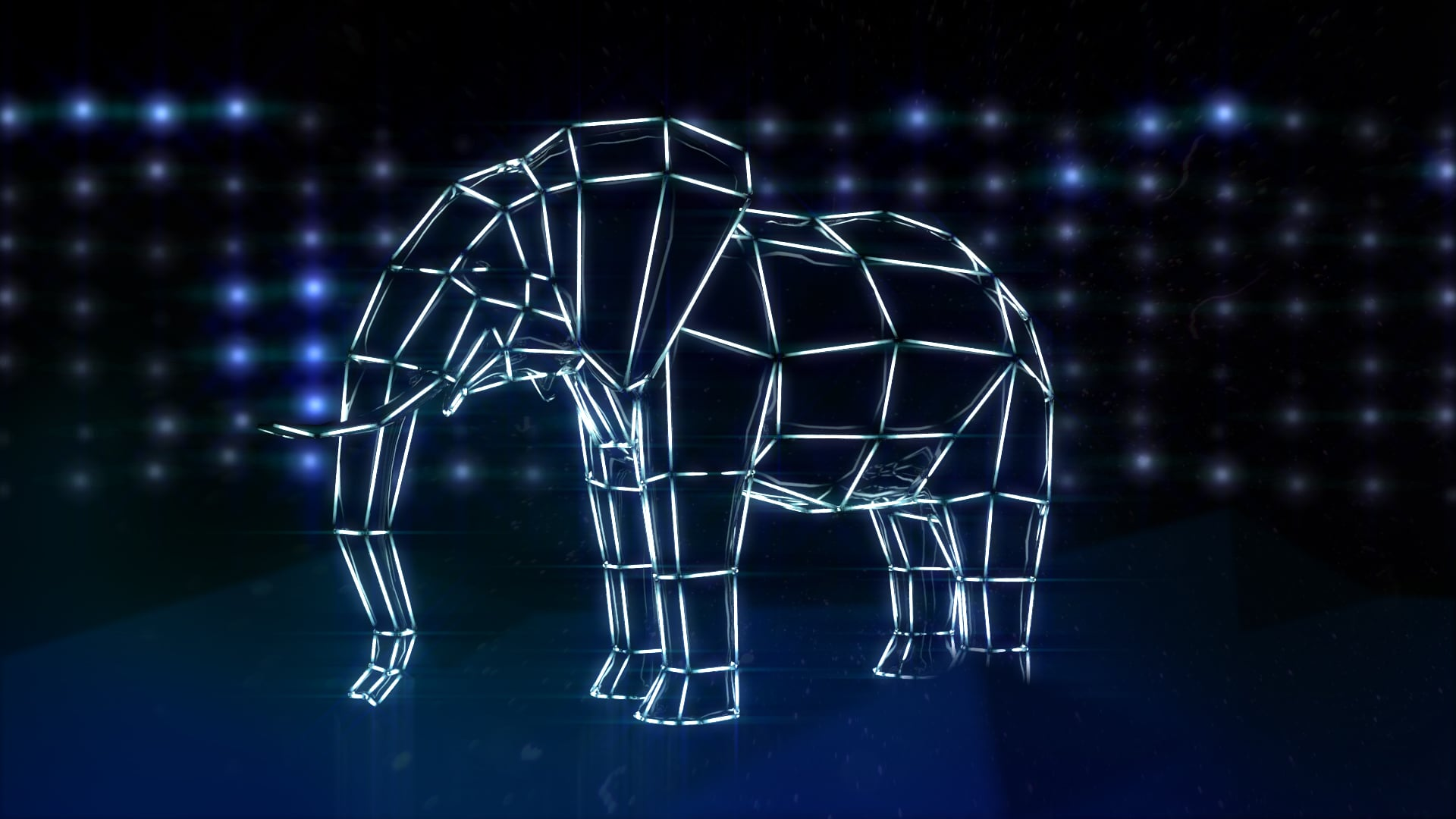 Zoo Lights Elephant Light Bar Concept 1