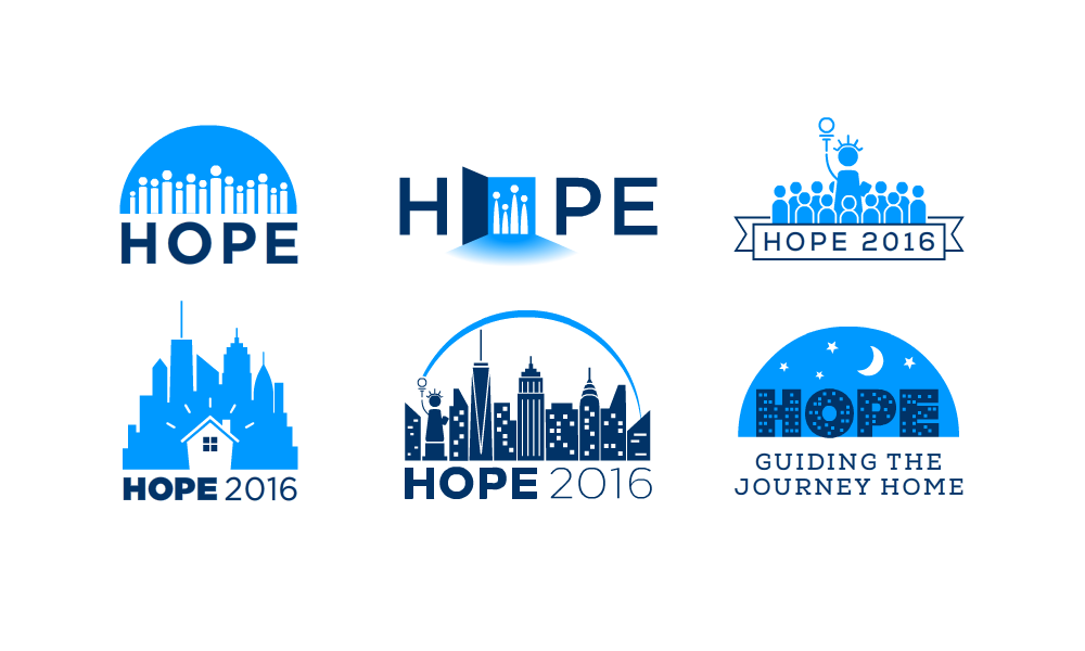 Some initial logo concepts.