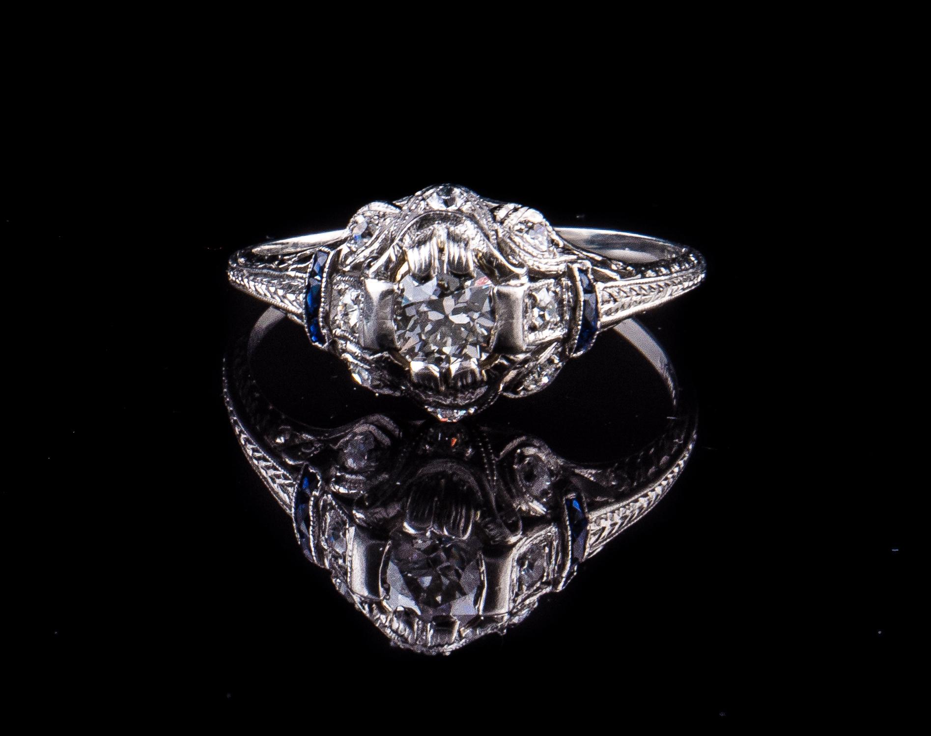 18Kt engagement ring