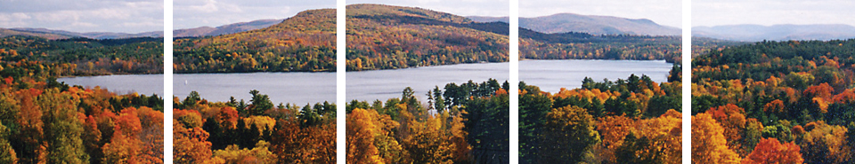 Some pictures of the beautiful views from Kripalu.