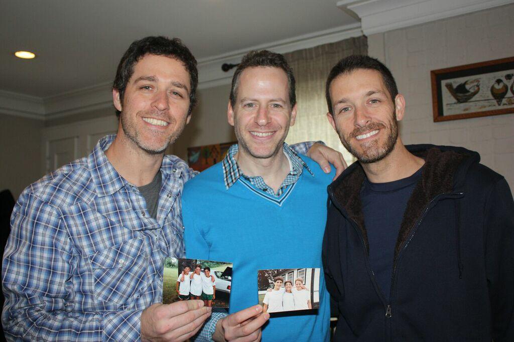 Ian, Dan and Alan