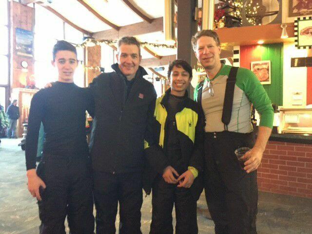 Darren, Rob, Dustin and Jimmy