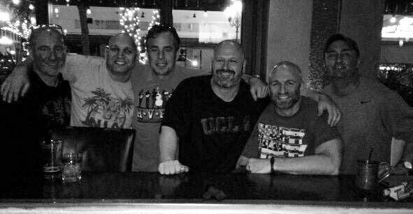 Dan, JD, Rob, Maz, DD, and Dean
