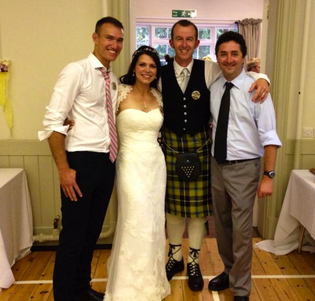 Neil, Caroline, Jim and Troy