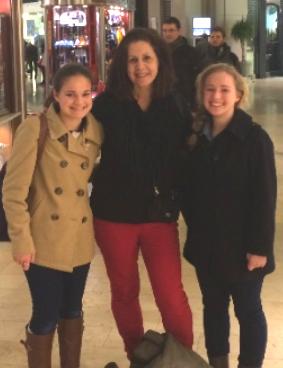 Sarah, Ketti, and Ally