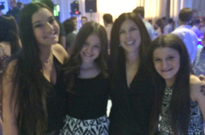 Amanda, Emma, Kerri, and Carly