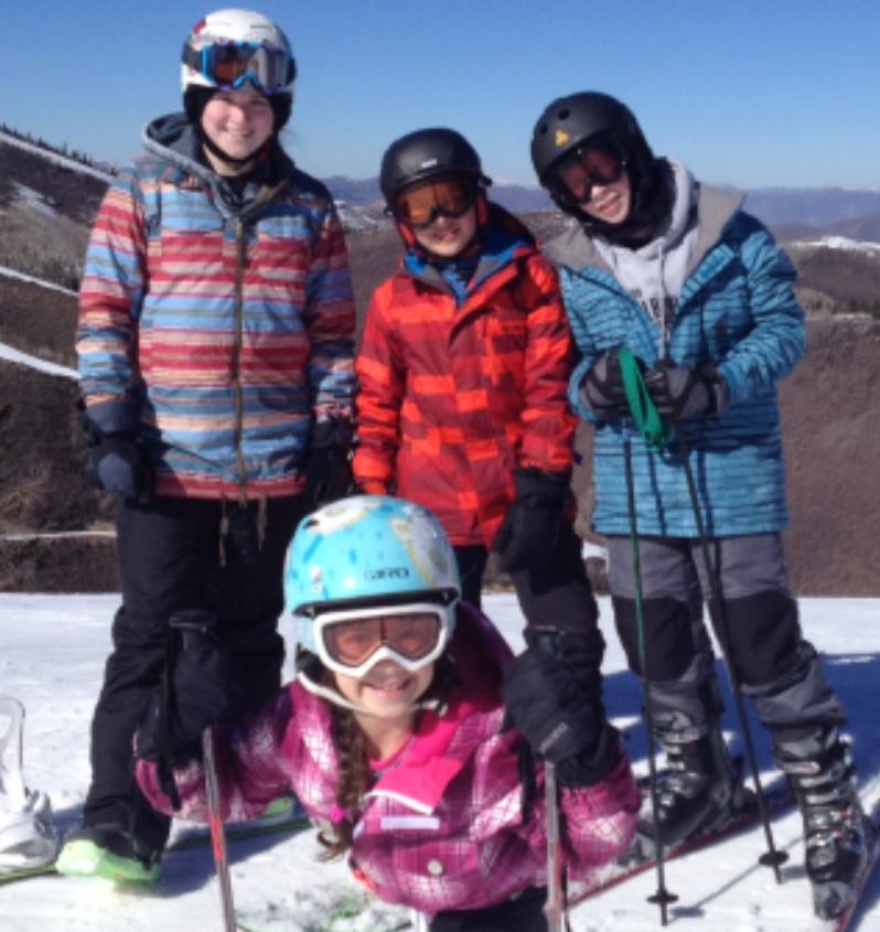 Samara, Ethan, Jake and Sadie