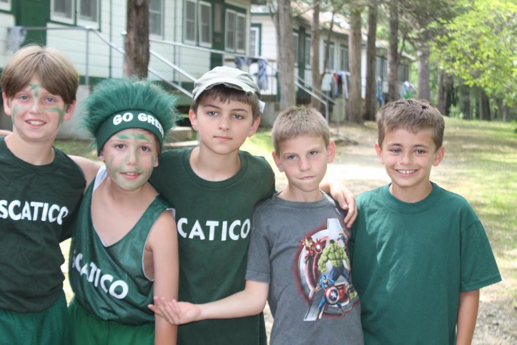 The Sophs Green team for All Stars.