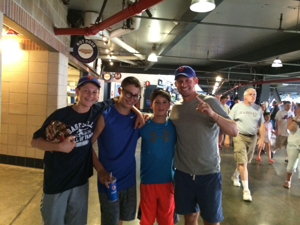 Jeffrey, Ross, Branden, and Cory
