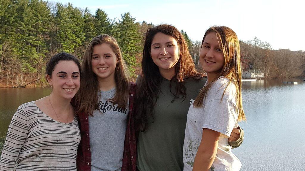 Rebecca, Izzy, Samara and Lily