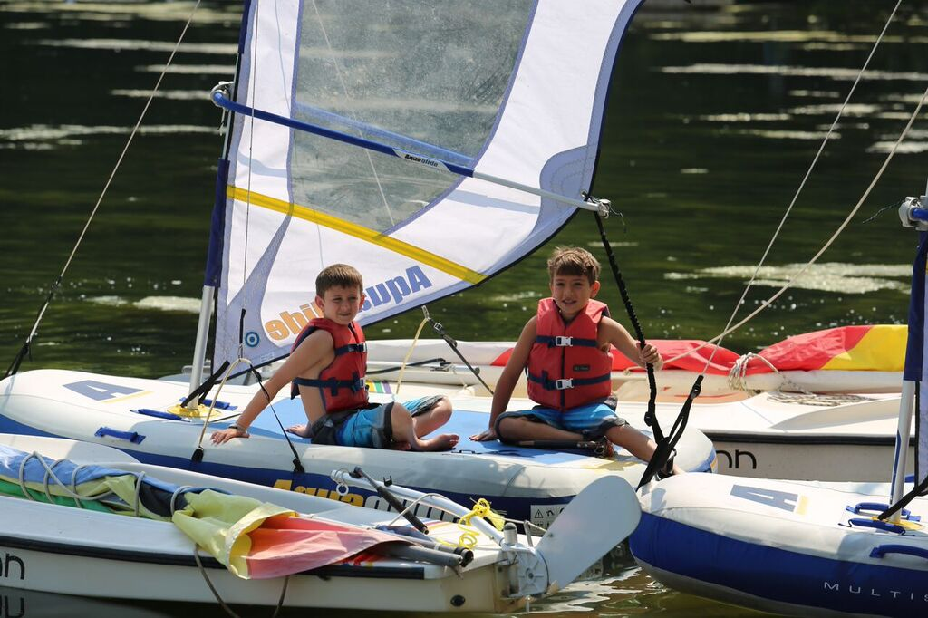 Sailing with  Jack  and  Asher