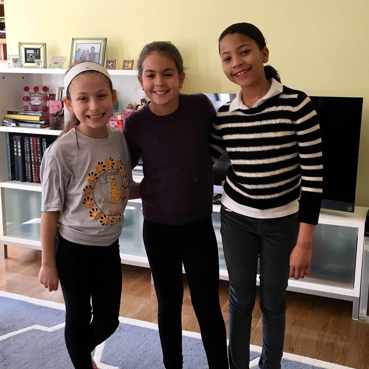 Avery, Emi and Ingrid