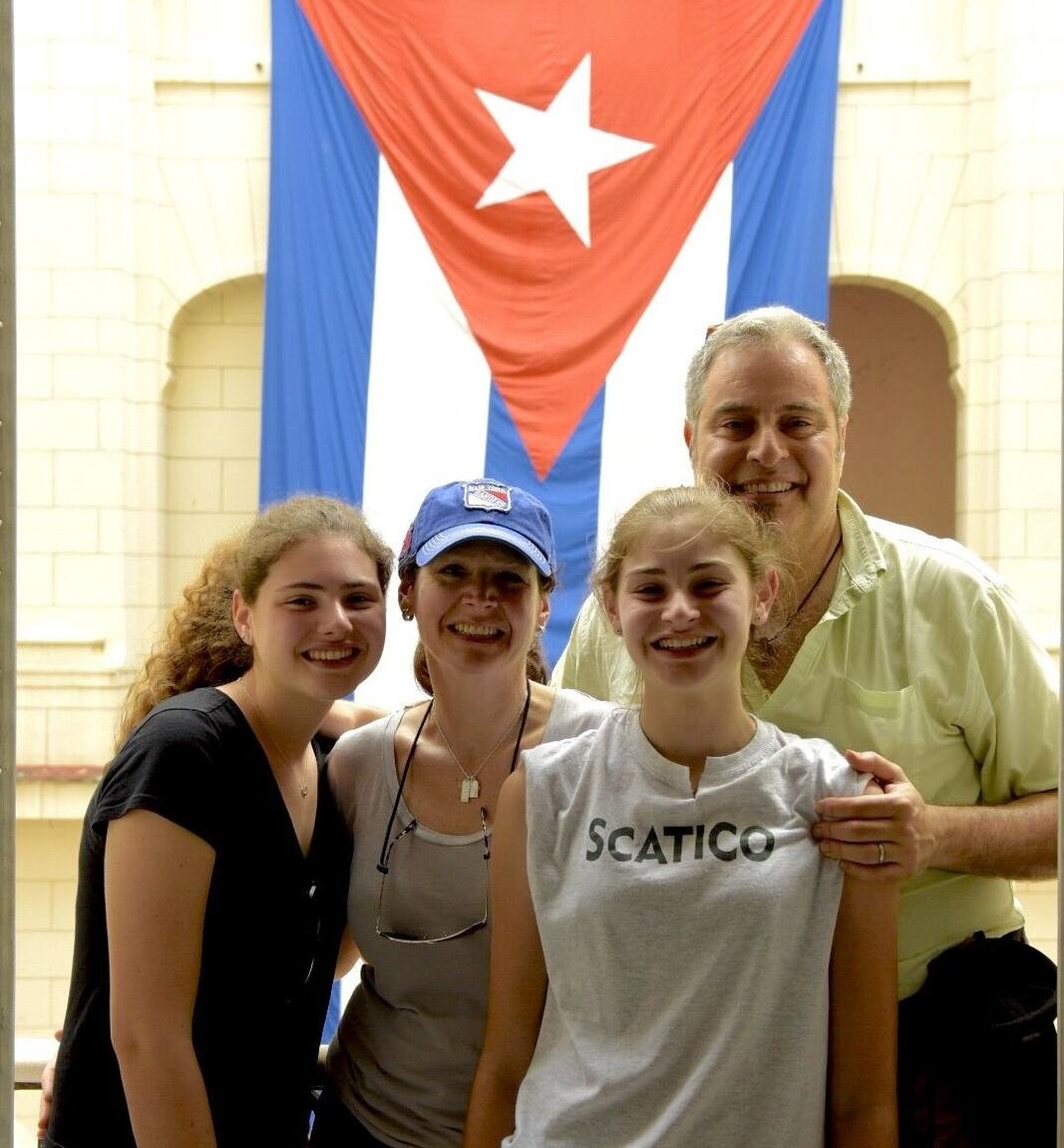 Scatico shirt in Havana!