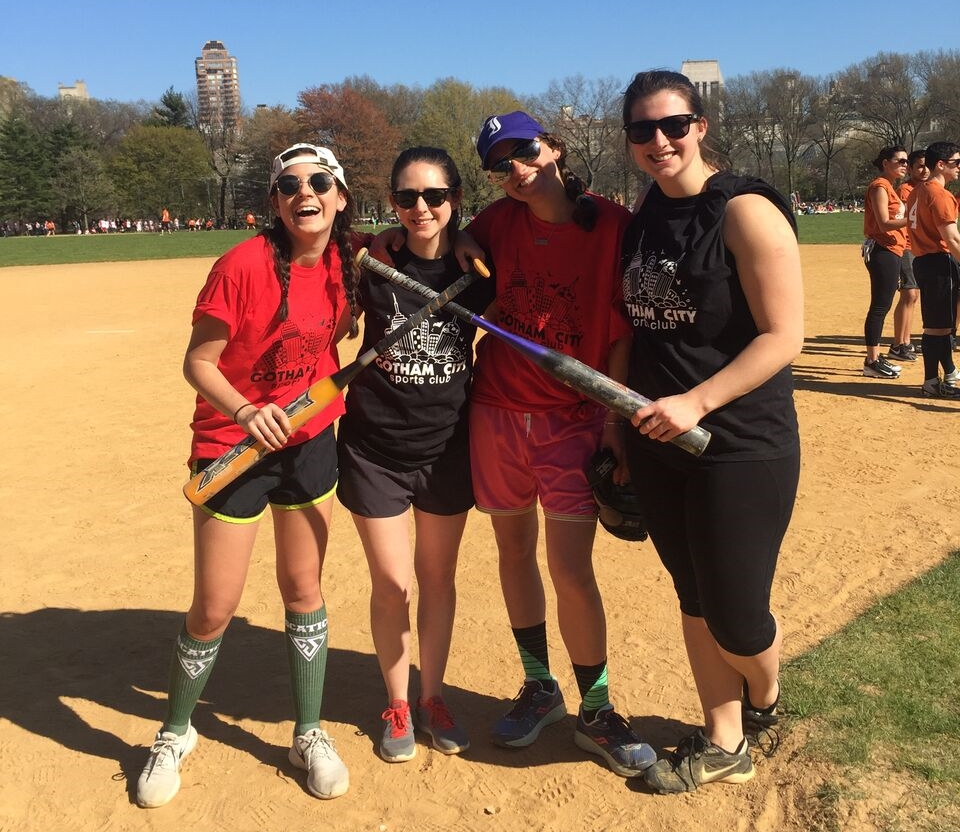 Softball in Central Park