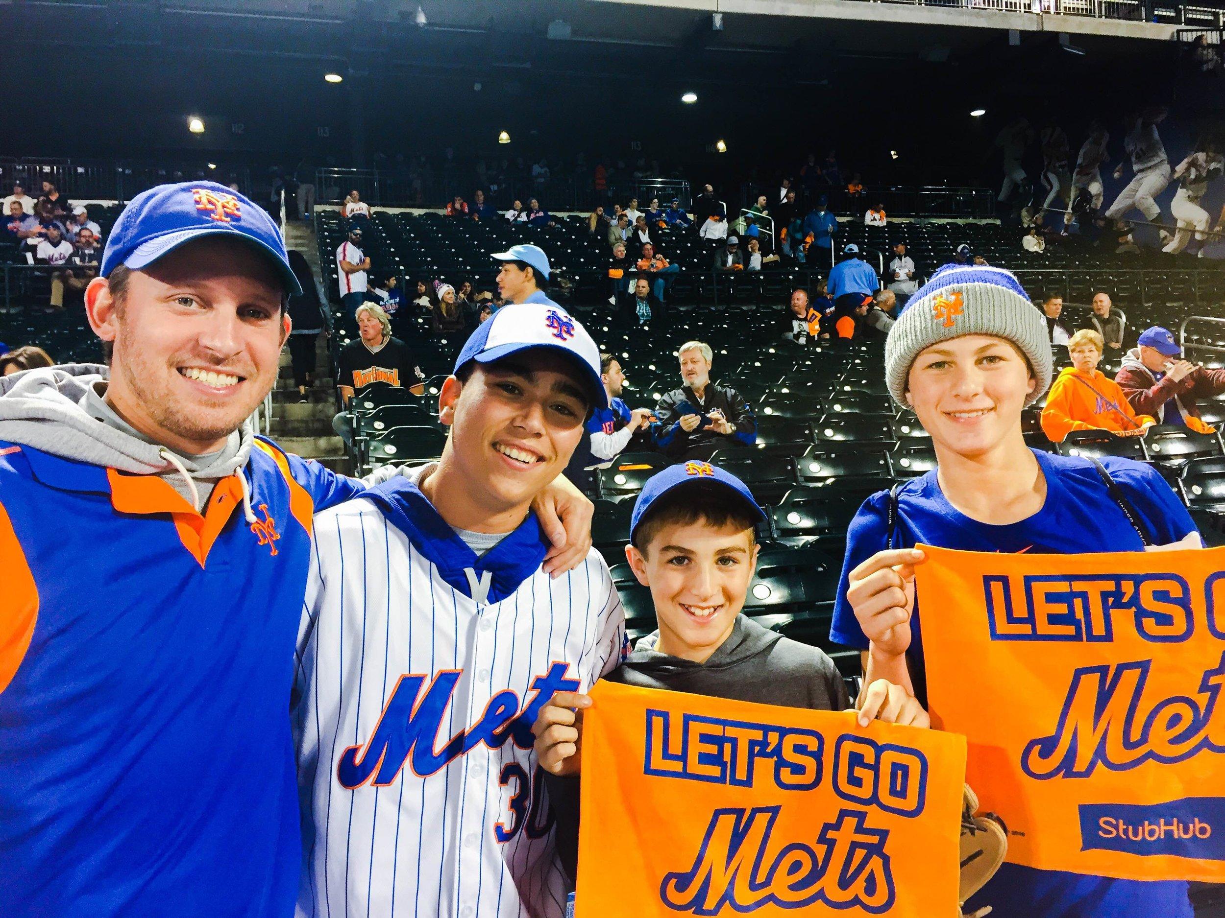 Cory, Ryan, Ethan, and Jeff