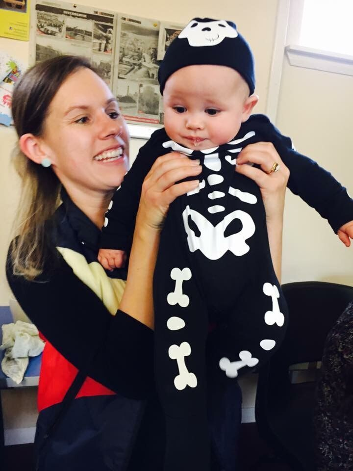 Hayley and Jake: First Halloween