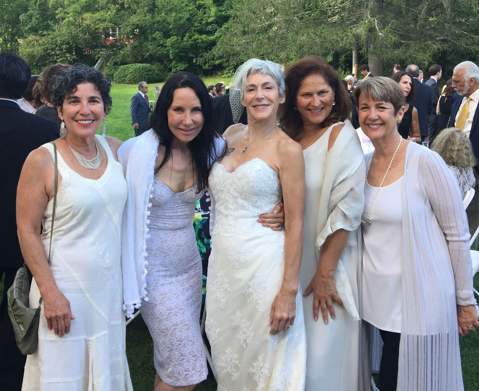 Betsy, Judi, Laurie, Jane, and Le