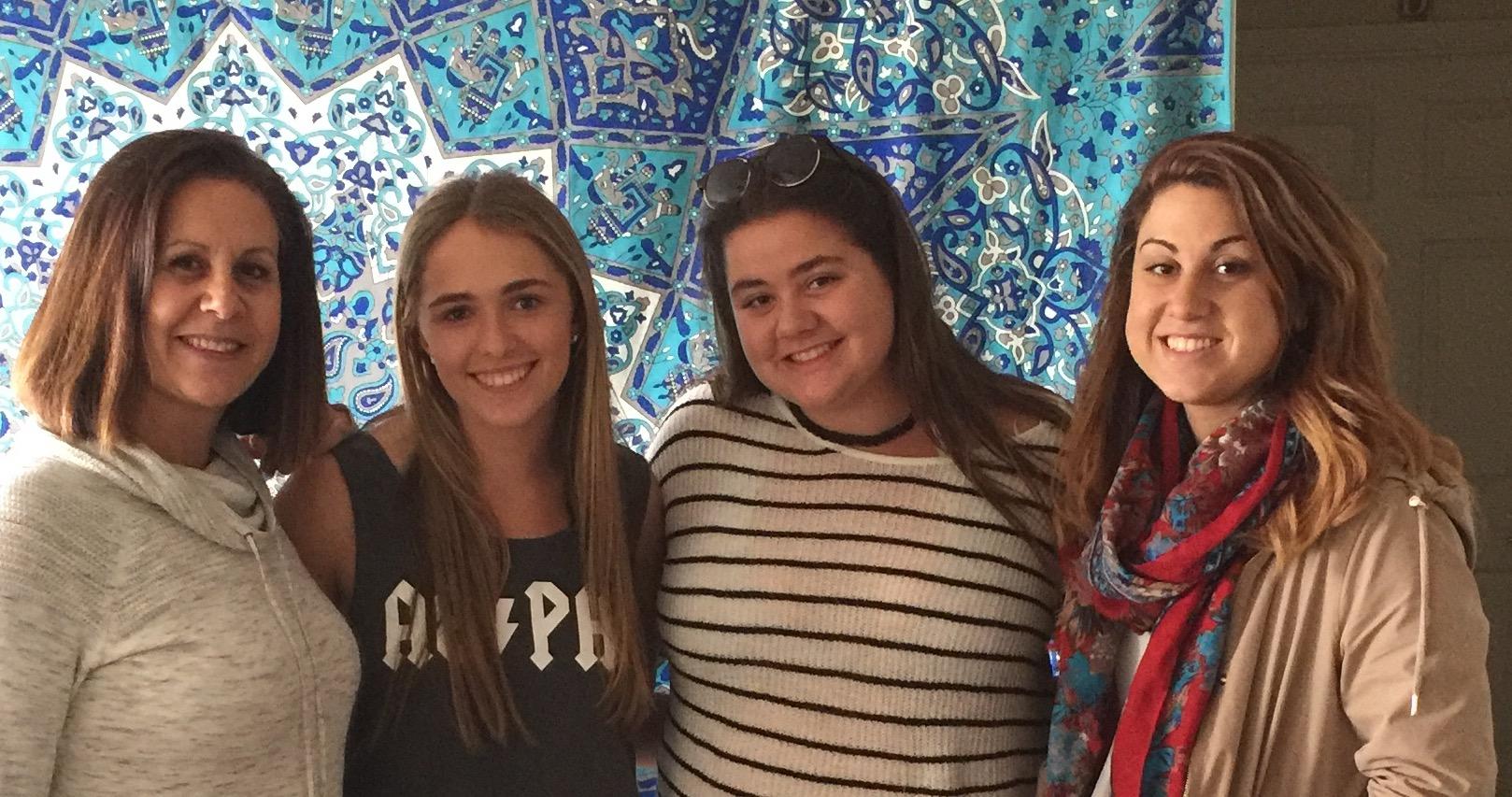 Ketti, Lexi, Melanie, and Francine.