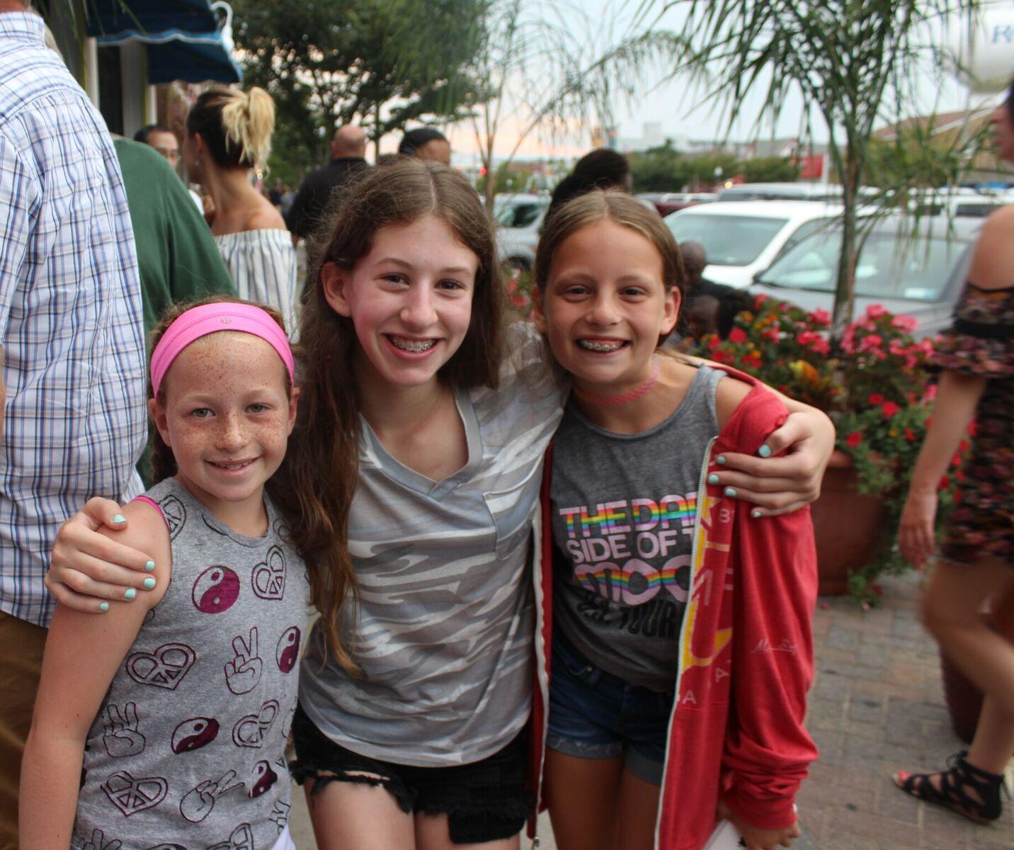 Marissa, Lauren and Jenna