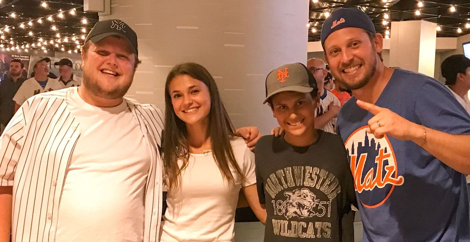 Chase, Daphne, Ellis, and Cory