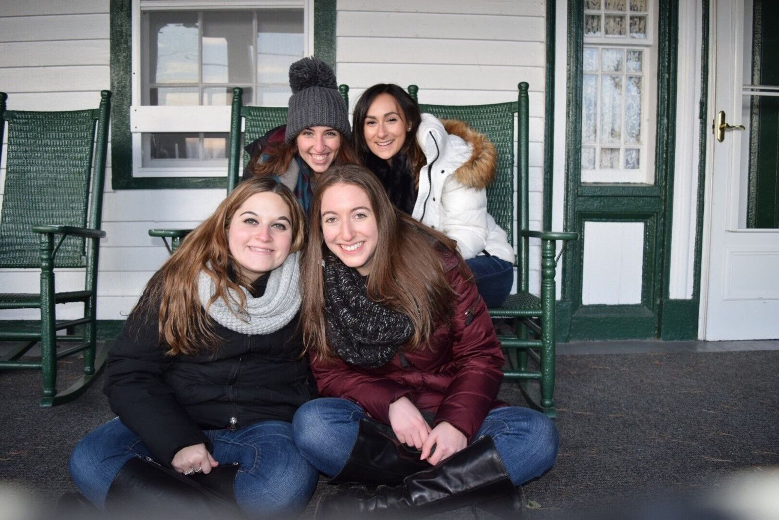 Nicki, Julie, Emily and Sydnee
