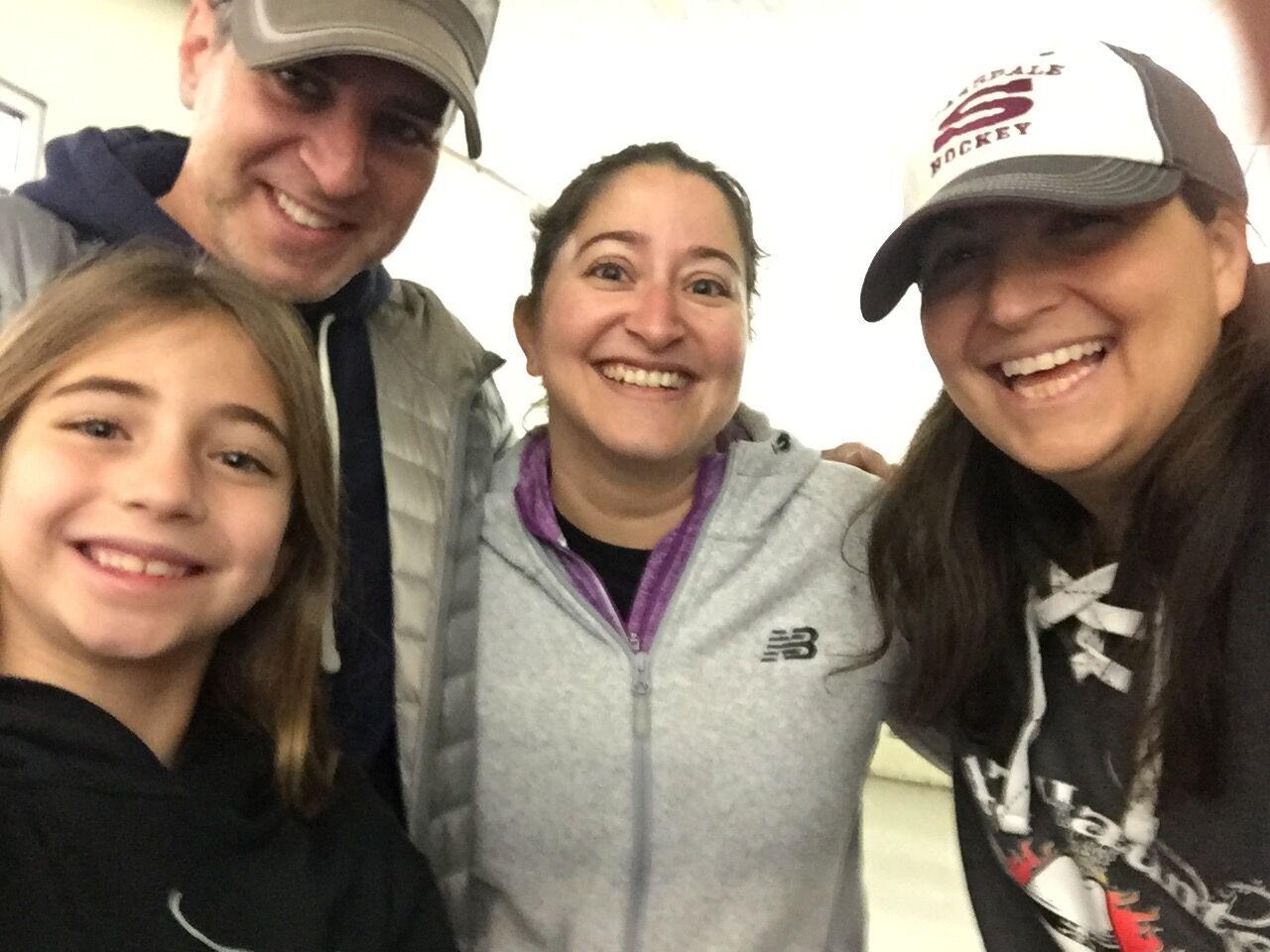 Pam, Melissa, Josh and Nealie