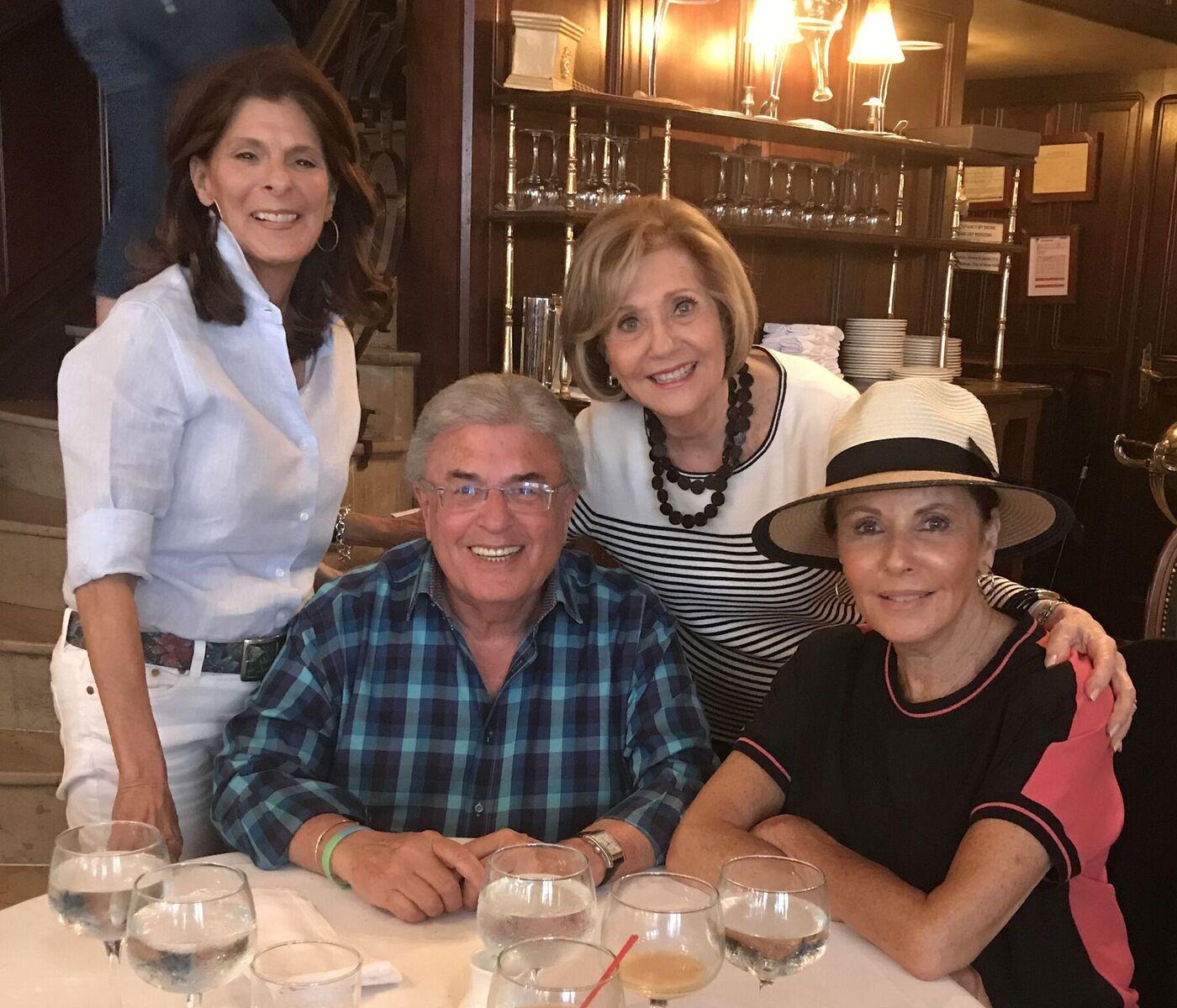 Sue, Dennis, Carol, and Joan