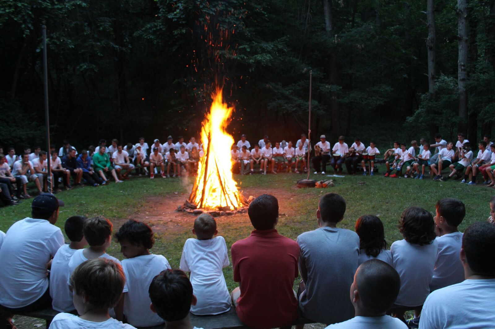 A powerful moment: Opening Campfires are less than 6 months away.