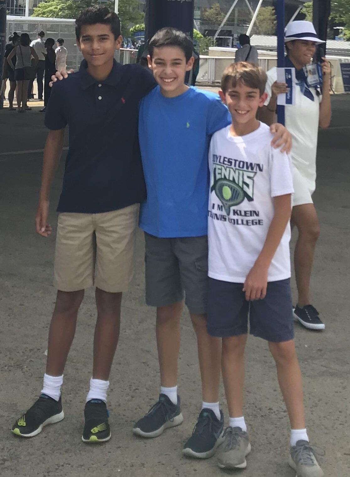 Nile, Adam and Ben
