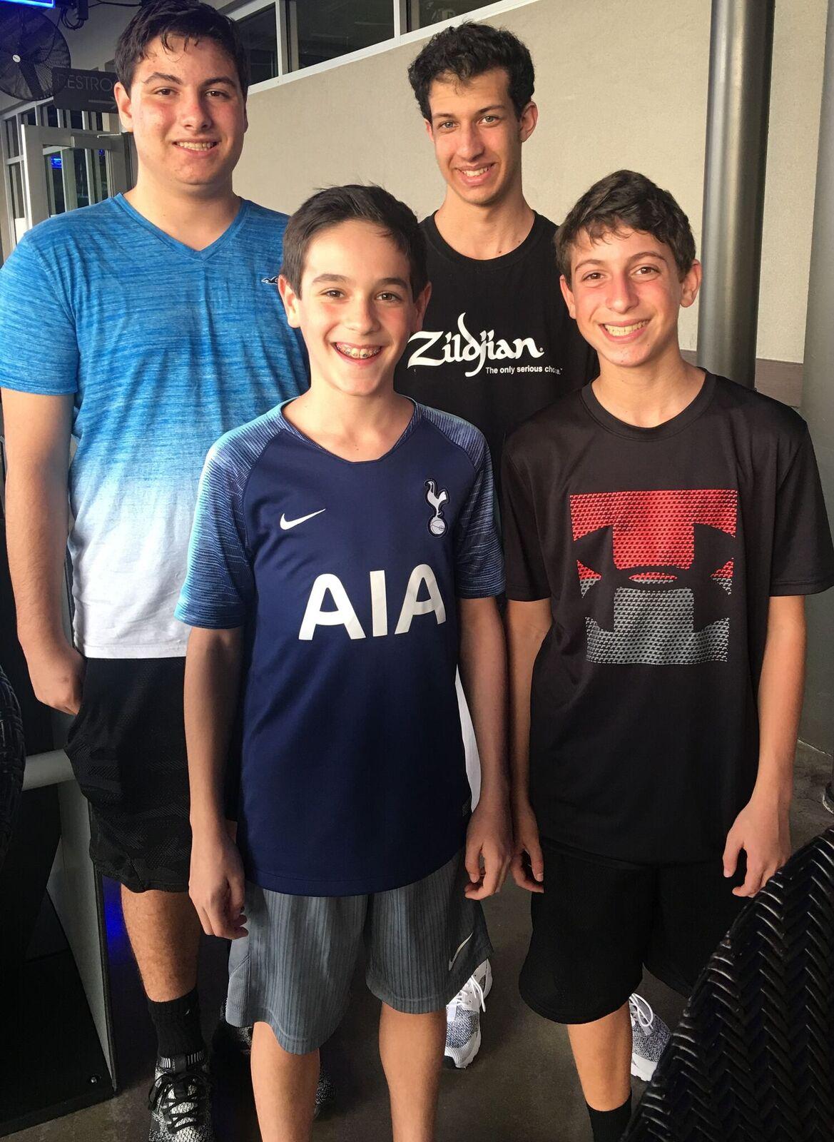Jared, Landon, Ryan & Asher