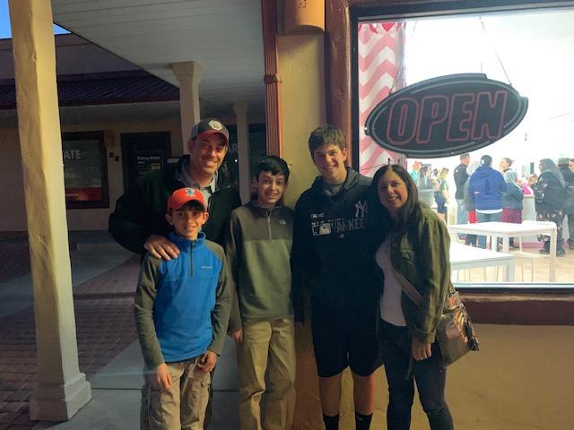 Ben, Marc, Adam, Tyler, and Kerri