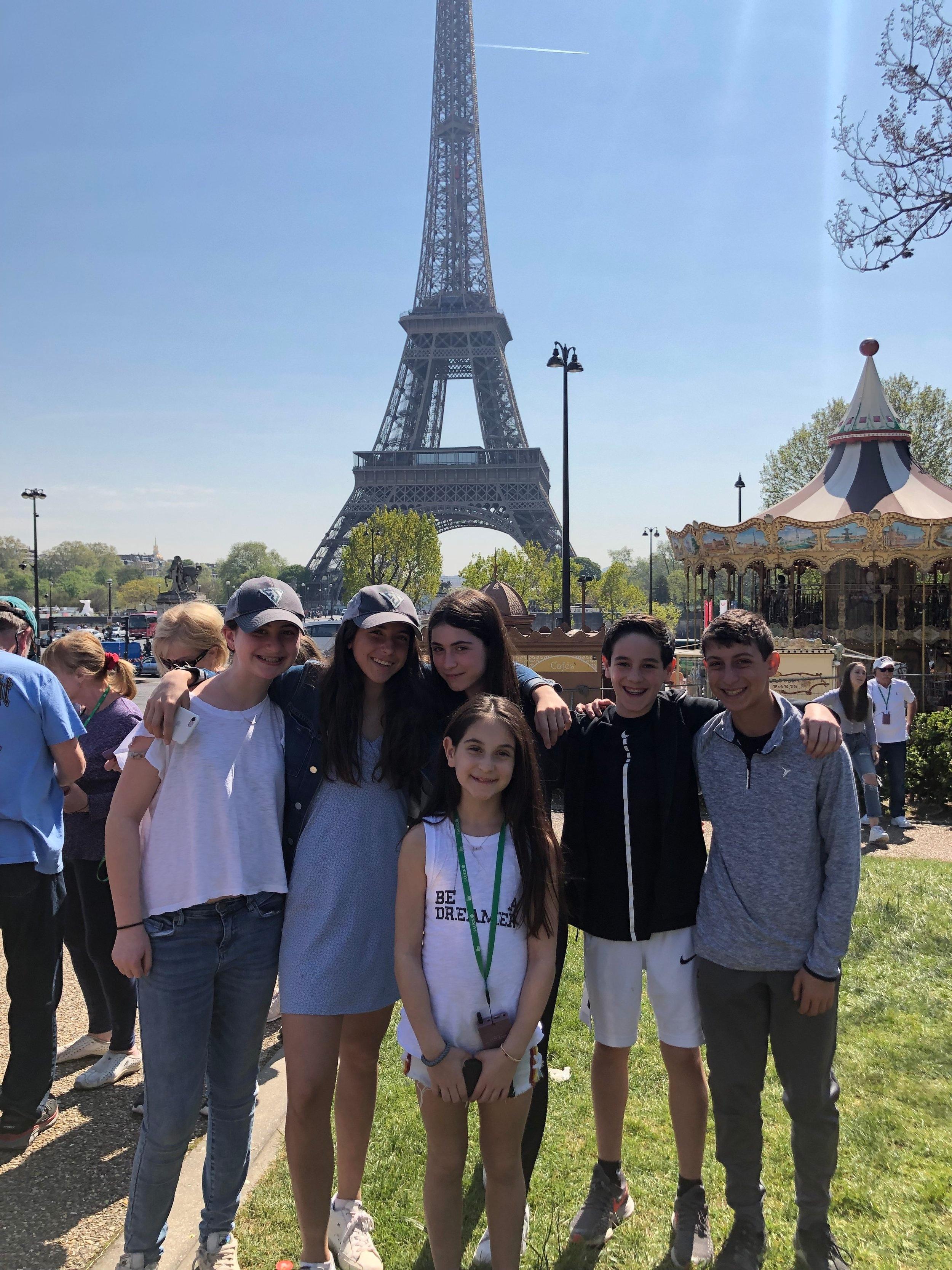 Scaticonians in Paris.