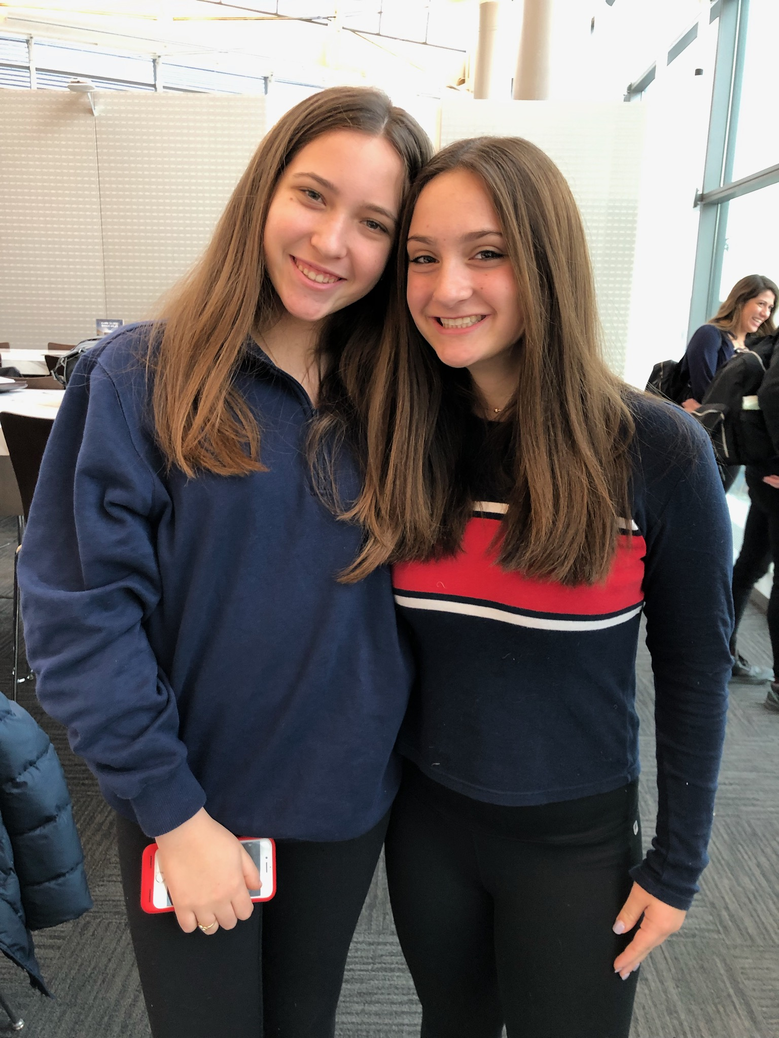 Ashley and Caroline.