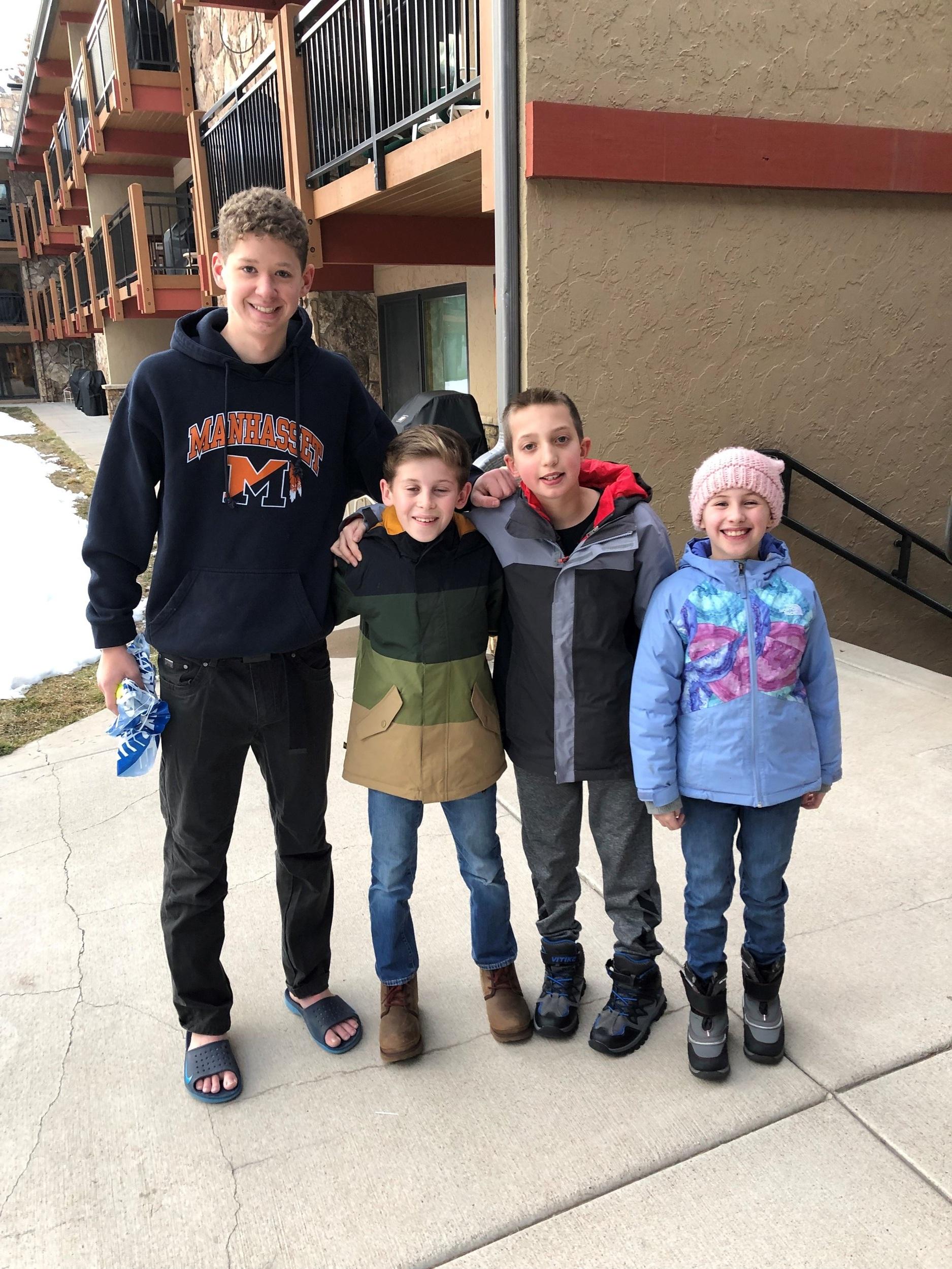 Ryan, Robert, Josh and Abby