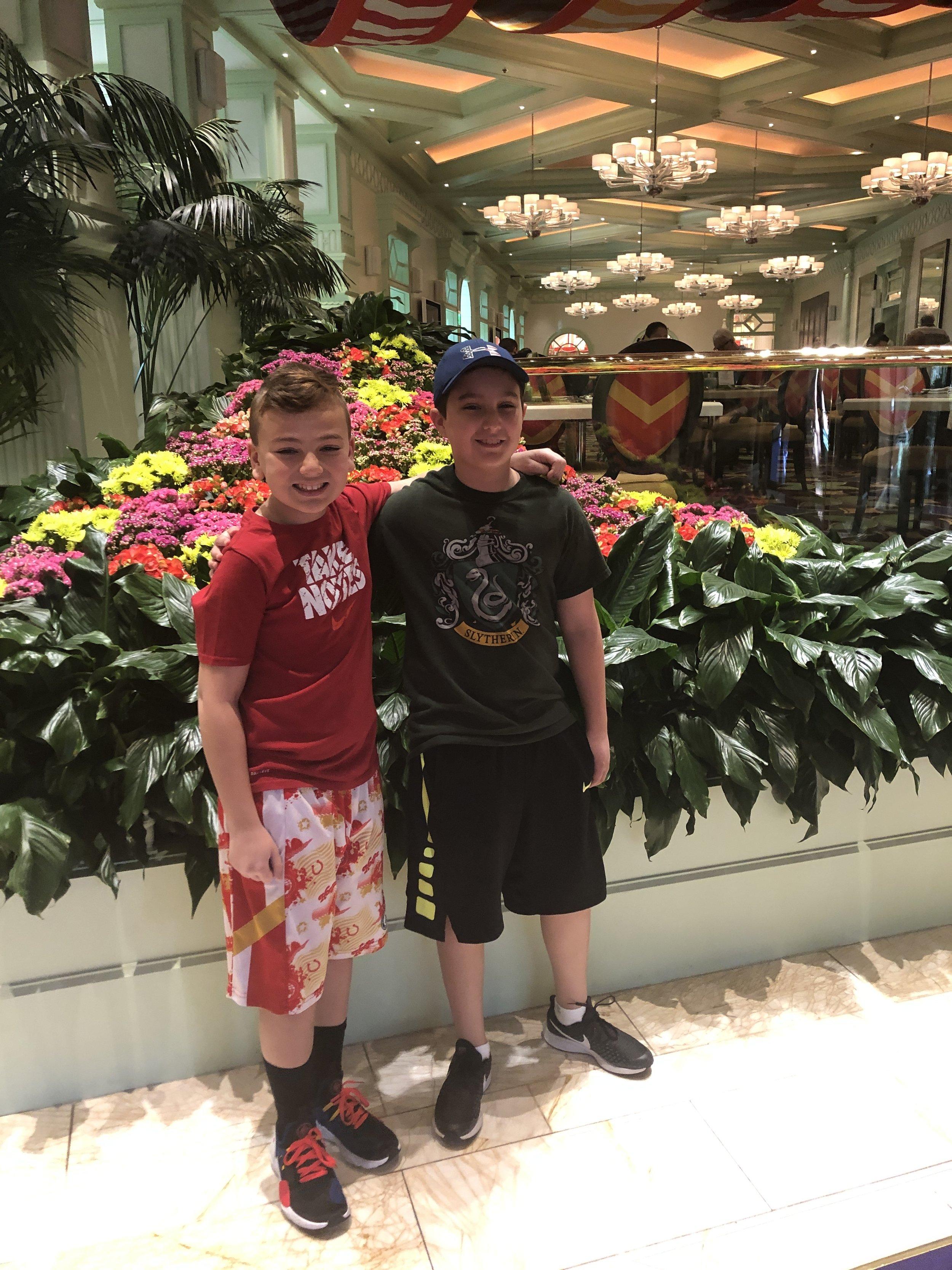 Zach and Josh