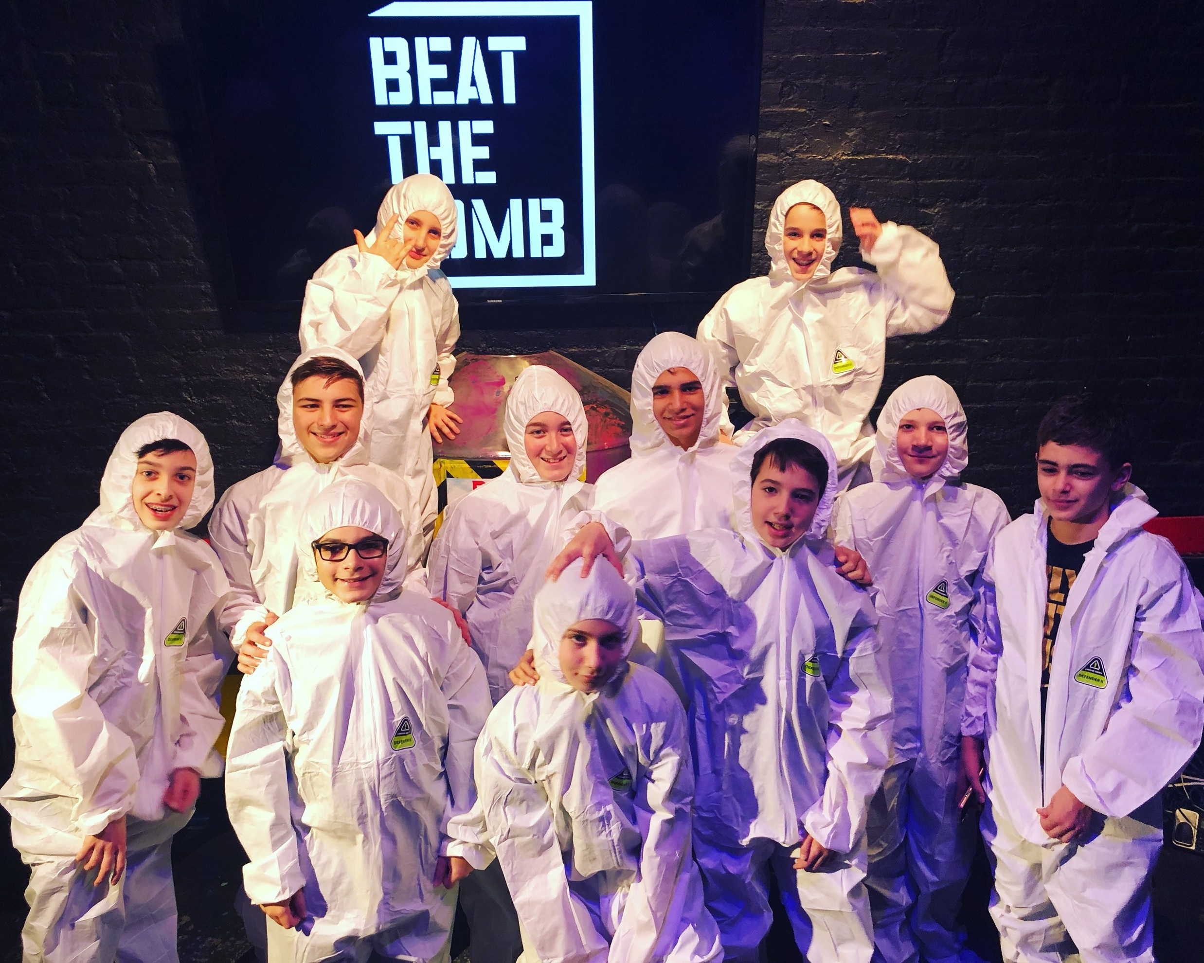 "Inters at ""Beat the Bomb"" in NYC"