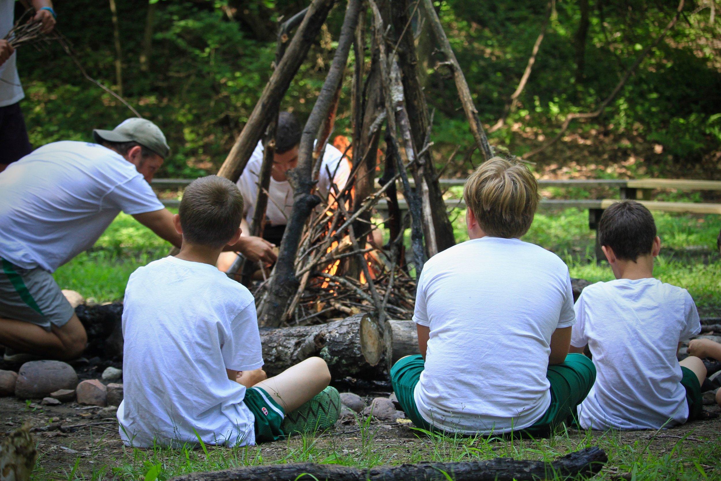 Building campfires