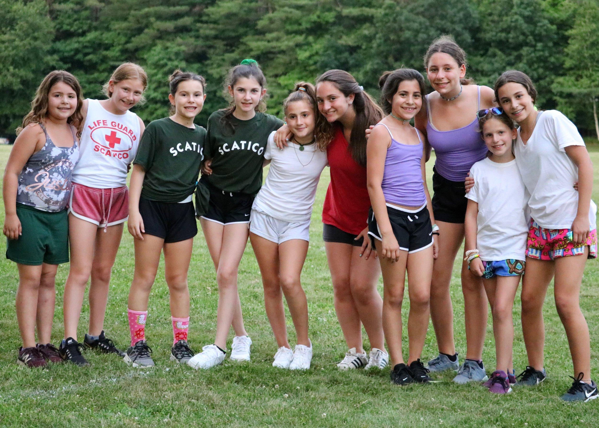 Camp sisters!