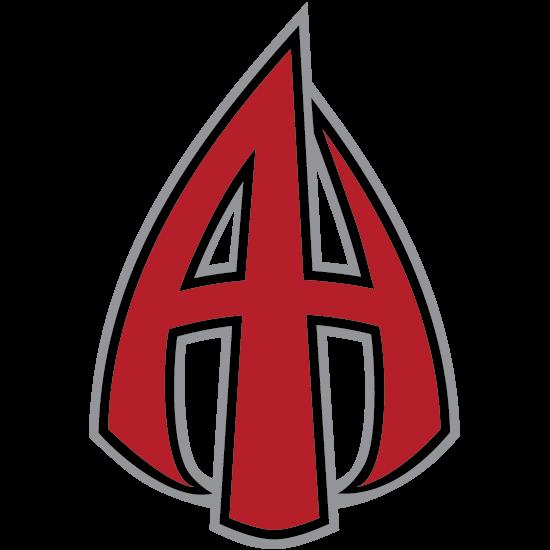 Three color logo  Red #B41F2A  Grey #939598