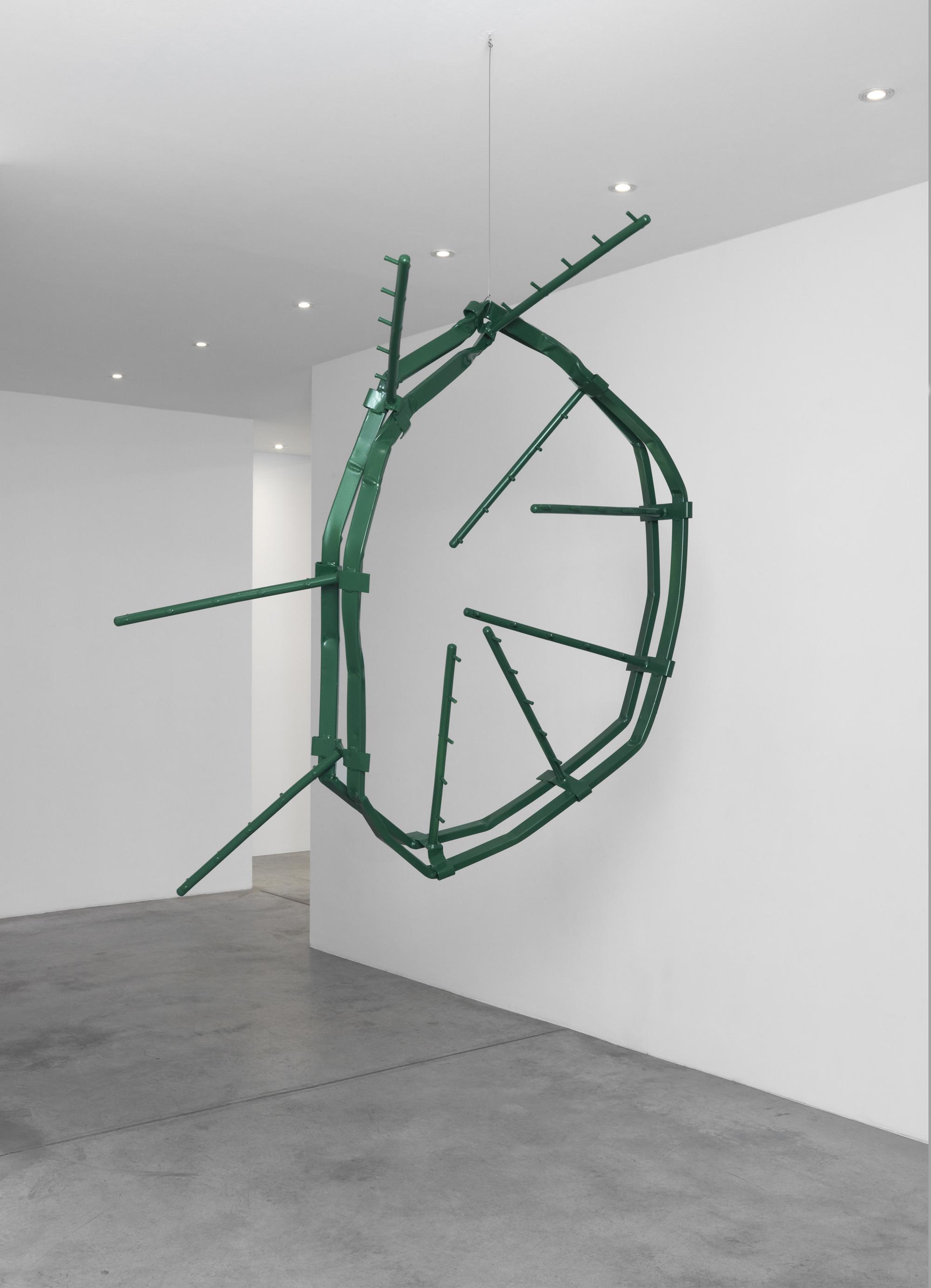Monika Sosnowska, Untitled from series Market, 2012, 155 x 170 x 16 cm