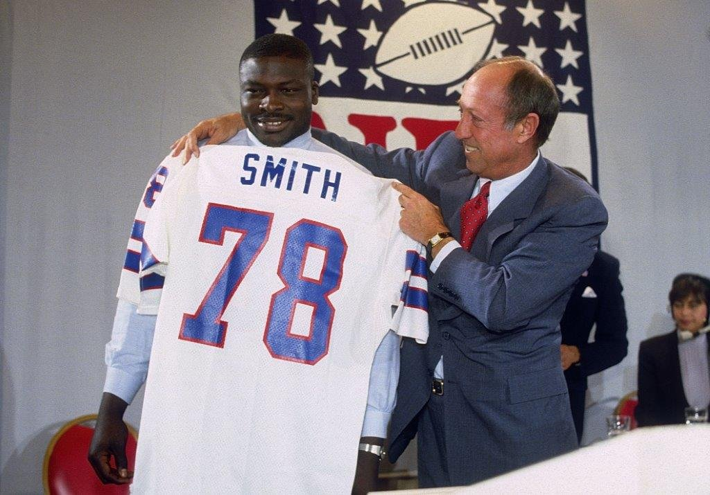 Pictured: Bruce Smith Credit: Buffalo Bills
