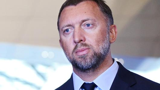 Pictured: Russian oligarch Oleg Deripaska. Credit: Tomohiro Ohsumi | Bloomberg | Getty Images