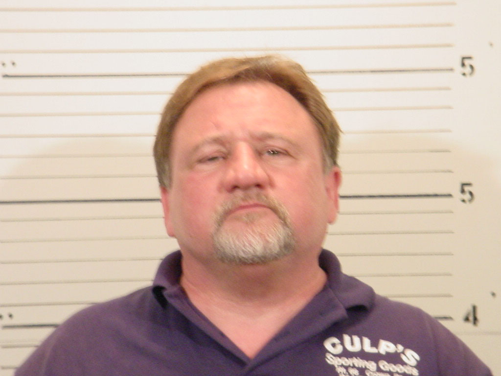 Pictured: 2006 mugshot of James Hodgkinson after being arrested for domestic abuse Credit: AP/St. Clair County Sheriff