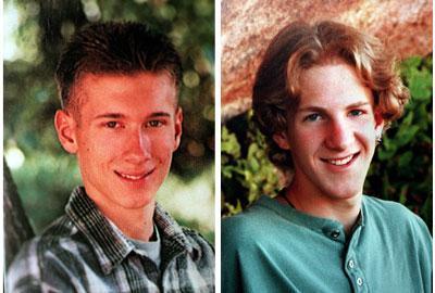 Eric Harris and Dylan Klebold Credit: Denver Post