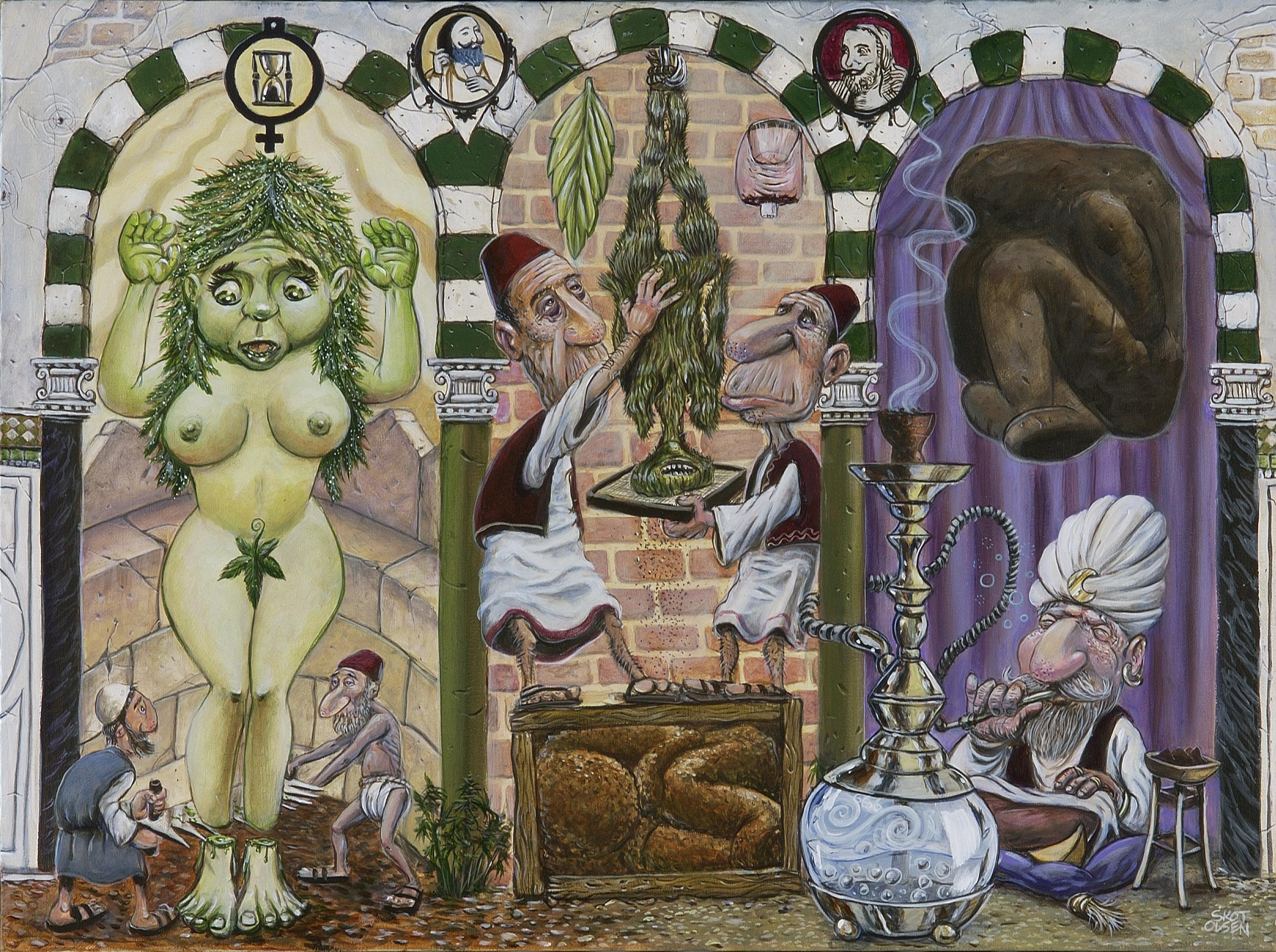 Alchemical Pipe Dream