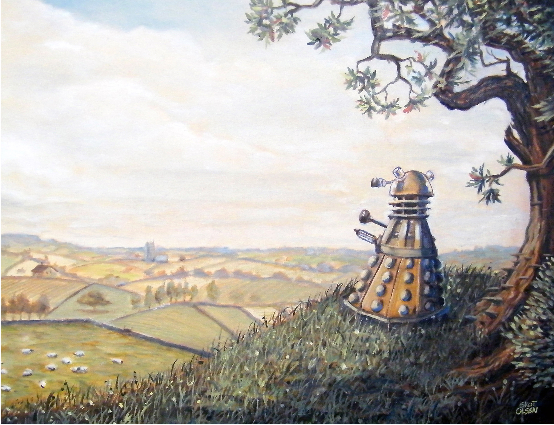 A Rather Dalek Afternoon