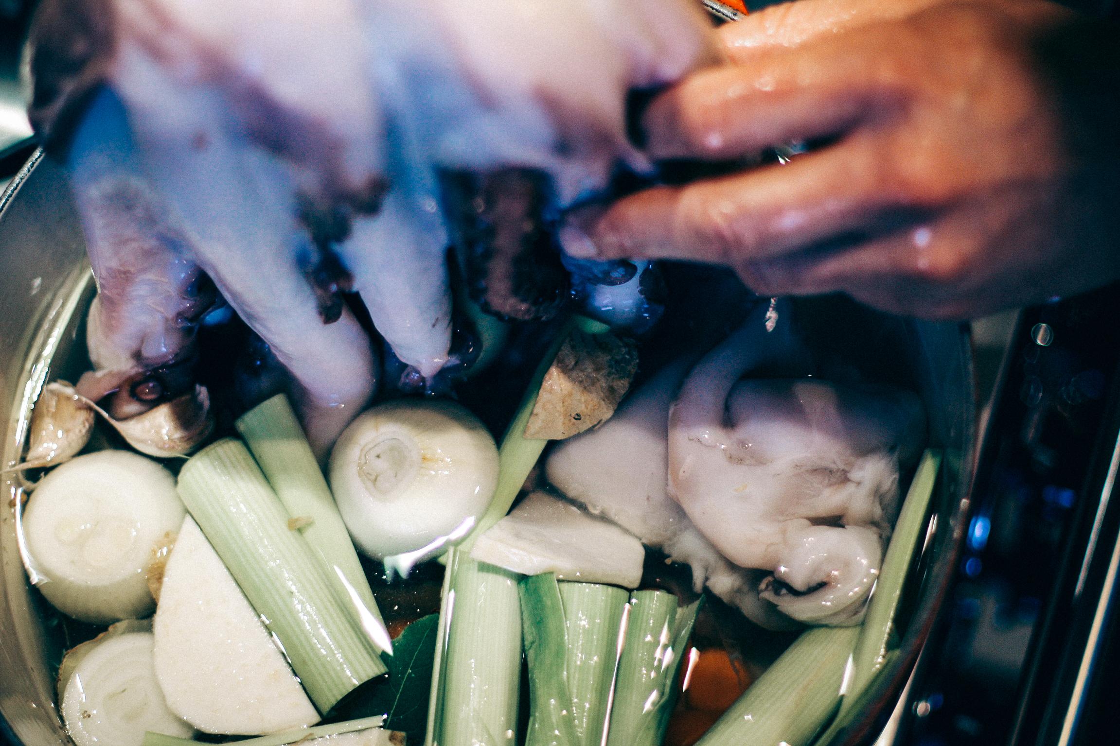 Salát z chobotnice